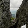 View through Split Rock.