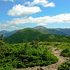 View to the Northern Presidentials from Mount Pierce.