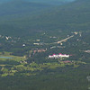 View of Bretton Woods from Mount Eisenhower.