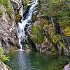Pool below falls.Right cascade on Ammonoosuc River.