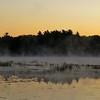 Sunrise on Powow River Kingston NH.