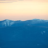 Franconia Ridge zoom at sunset