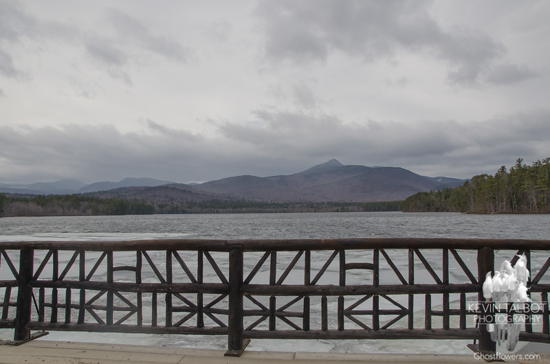 Arrival to the north country 3/29/16-Obligatory shot of Mount Chocorua and Chocorua Lake.