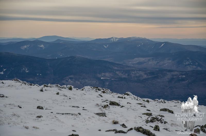 West to Franconia Ridge