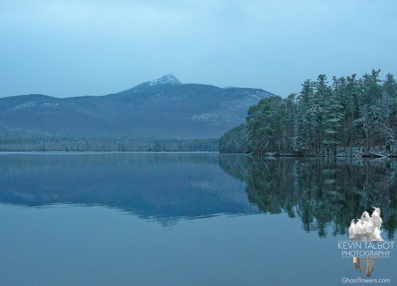 November 21, 2007. Obligatory stop at Chocorua Lake on the way up.