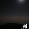 Full moon lights up Boott Spur.