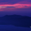 Sunrise over Carter Dome.