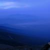 Foggy view across Bretton Woods.
