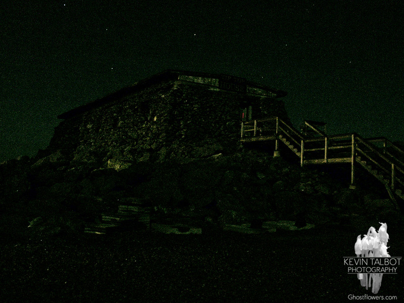 Moonlit Tip-Top House with Big Dipper .