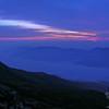 First light over Carter Range.