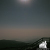 """Full moon lights up """"Stairway to Heaven."""""""