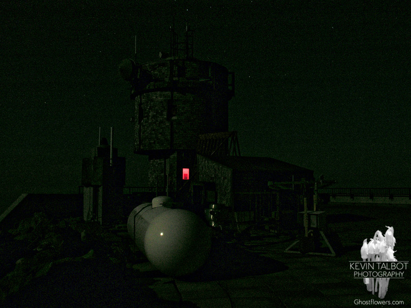 Moonlit Obs tower.