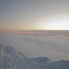 Undercast at sunset 2.