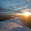 Sunset over the Southern Presidentials 3.