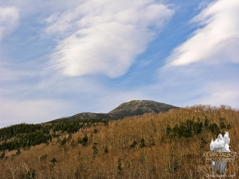 View of Nelson Crag from the base of the Auto Road.