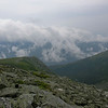 The view east from the Tuckerman Ravine Trail.
