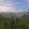 Looks like a beautiful day! L to R Lion's Head, the summit dome of Mount Washington and Huntington Ravine.