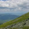 View northwest over the Dartmouth Range to Cherry Mountain.