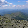View from the Crawford Path of the Southern Presidentials.