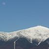 Moonrise over Mount Washington