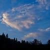 Evening skies over Moosebrook.