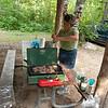Camp supper.