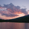 Sunset over Durand Lake on the eve of our STP hike.