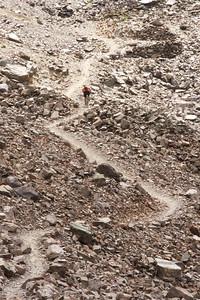 Rockin the rocks on the Yellow Peak Loop.