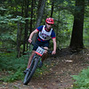 The Eaglebrook and Dublin Schools joined with the NMH Outdoor Team in a tri-school mountain bike race on the Mount Hermon campus trails on September 22, 2018. Photography by Glenn Minshall.