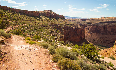 Colorado Cliff trail