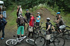 Group of riders about to sample the Sickter Lars all-mountain trail loop