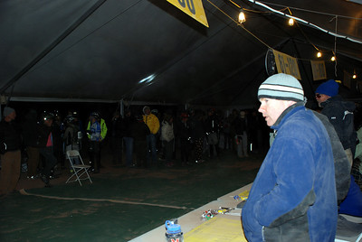 Relay Riders Waiting in the Check In Tent