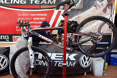 Chris  Eatough's Bike