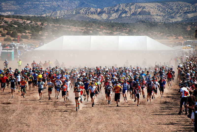 15th Annual 24 Hours of Moab Start