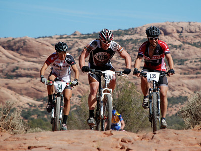 Pau Sawicki Early in the 24 Hours of Moab