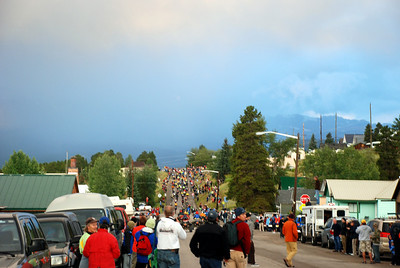 Leadville 100 Racers Head to the Rain