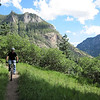 The Portland 238 Trail out of Ouray.  Lots of stuff to ride in here and we'll go back to explore more.  It's pretty too!