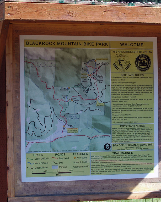 Black Rock Trails Itzphoto