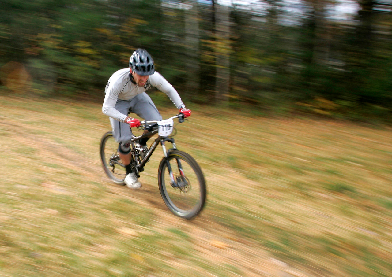 PHOTO BY HERB SWANSON:  1st Annual Burke Bike Park Kingdom Enduro at Burke Mountain October 13, 2012.