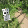 No room on the trail for bypasses but you can walk the bike through if you need to.  I didn't find this trail difficult.