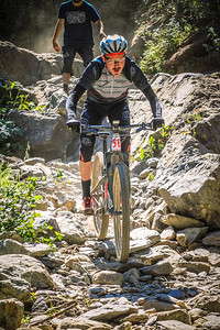 Duncan Riffle shows us the fastest line through the waterfall and down the mountain to take the top podium spot in the 2016 Downieville Classic dowhill. @duncanriffle #bib50 #downievilleclassic2016 #downievilleclassic #downievilledownhill #allmountain #mountainbiking #mtb
