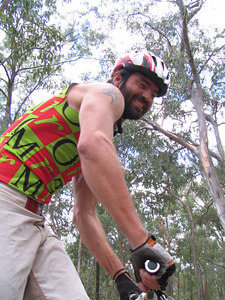 Stevo starts his solo single speed session