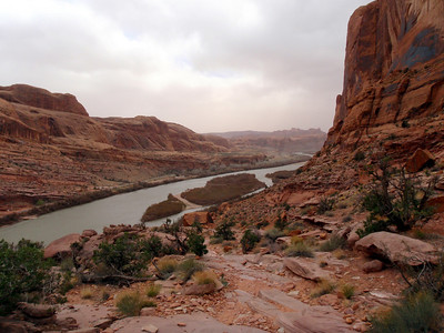 Portal Trail Near Moab, UT