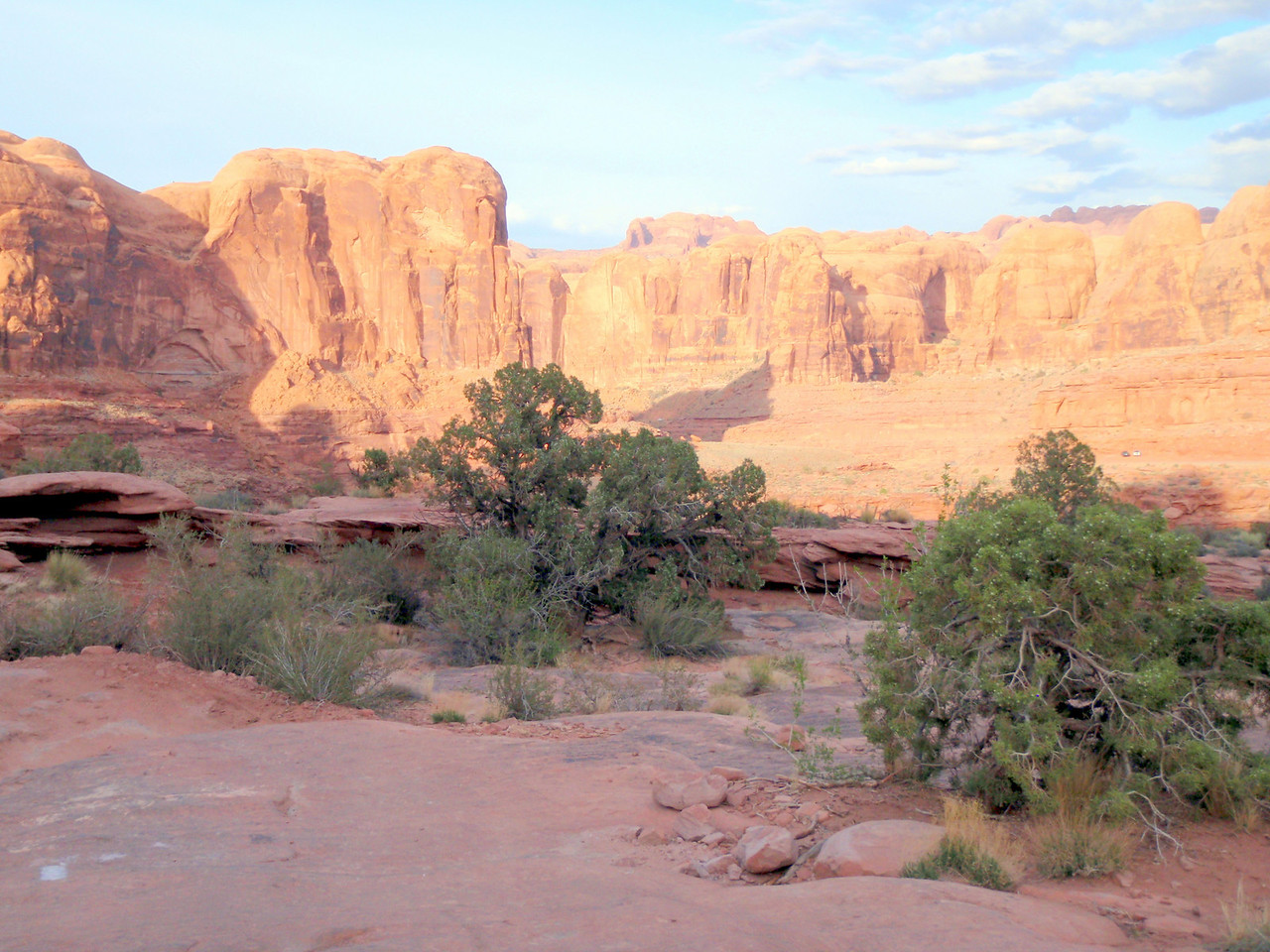 View from Amassa Back Near Moab, UT