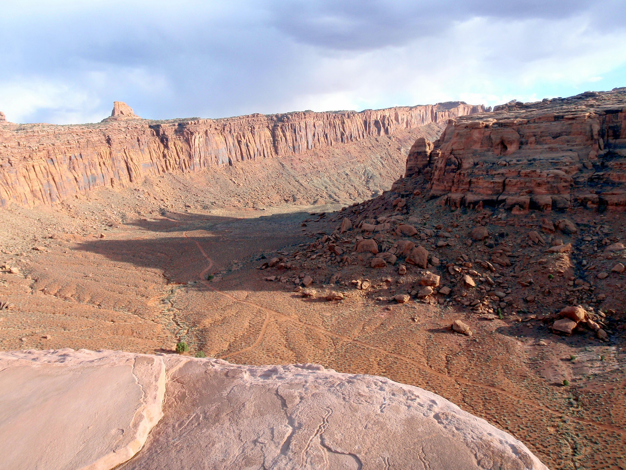 View of from Top of Jacob's Ladder Near Moab, UT