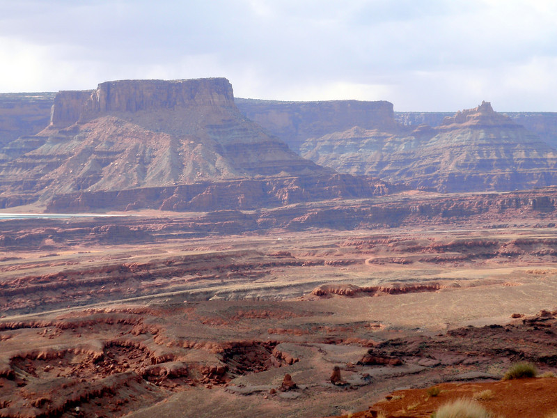 View From Top of Hurrah Pass Near Moab, UT