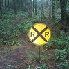 Old RR signs along B-V trail