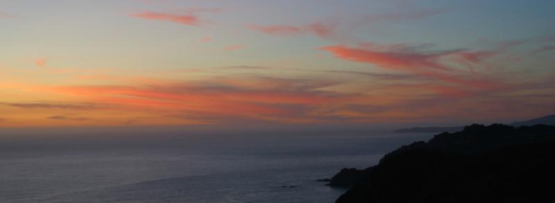 Marin Headlands Sunset Ride November 2011