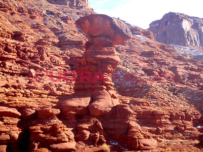 Hoodoo on Hurrah Pass