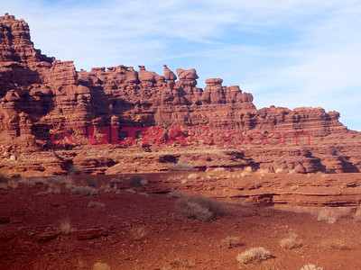 Hoodoos on Hurrah Pass